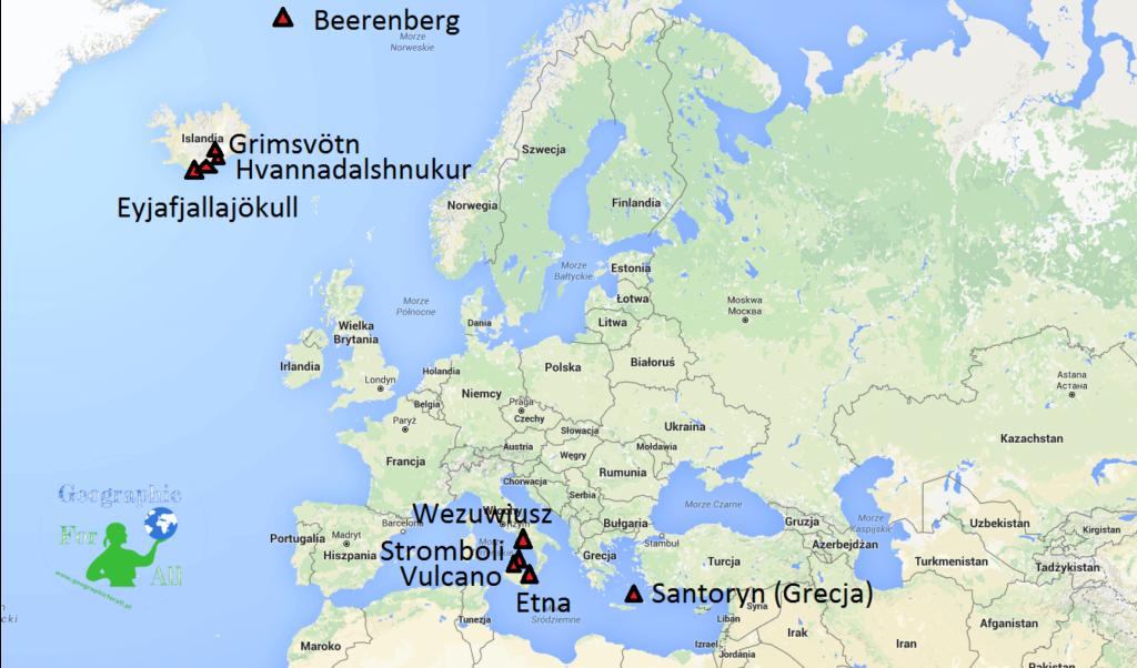 Wulkany wEuropie