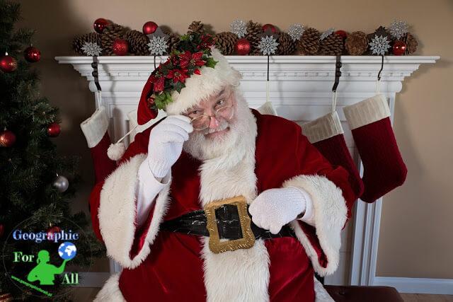 Gdzie mieszka święty Mikołaj? AczyTy byłeś grzeczny wtym roku? Napewno?