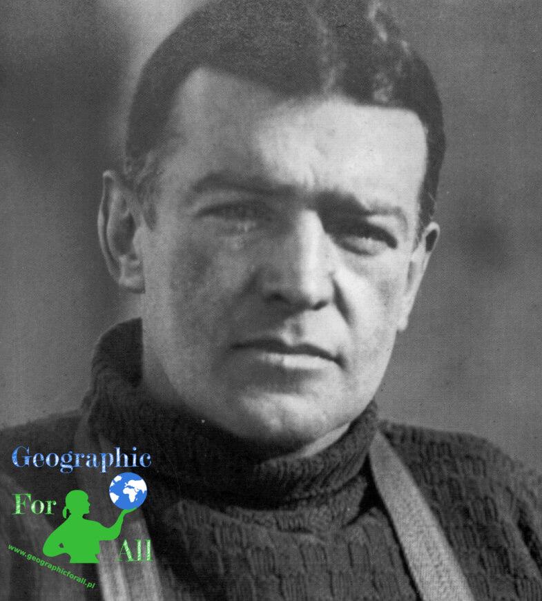 Ernest Shackleton źródło: eu.wikipedia.org, Frank Hurley