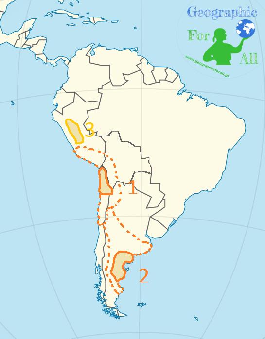 Pustynie wAmeryce Południowej