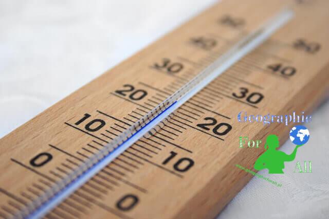 Temperatura w atmosferze - definicje i rekordy temperatury