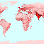 Distribution and development of the world's population