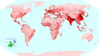 rozwój ludności świata development of the world's population