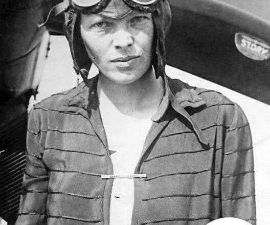 Najbardziej znane zdjęcia Amelii Earhart - 5 czerwca 1928