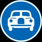 znak autostrady Japonia