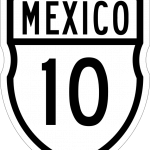 znak autostrady Meksyk