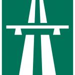 znak autostrady Szwecja