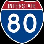 znak autostrady USA