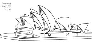 opera wsydney australia kolorowanki dodruku