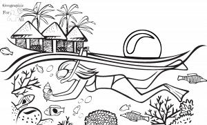 rafa koralowa australia kolorowanki dla dzieci