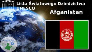 Lista Światowego Dziedzictwa UNESCO Afganistan