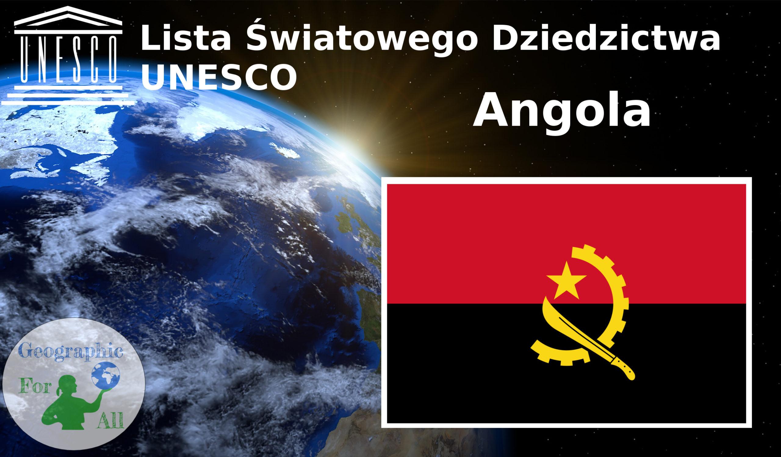 Lista Światowego Dziedzictwa UNESCO Angola