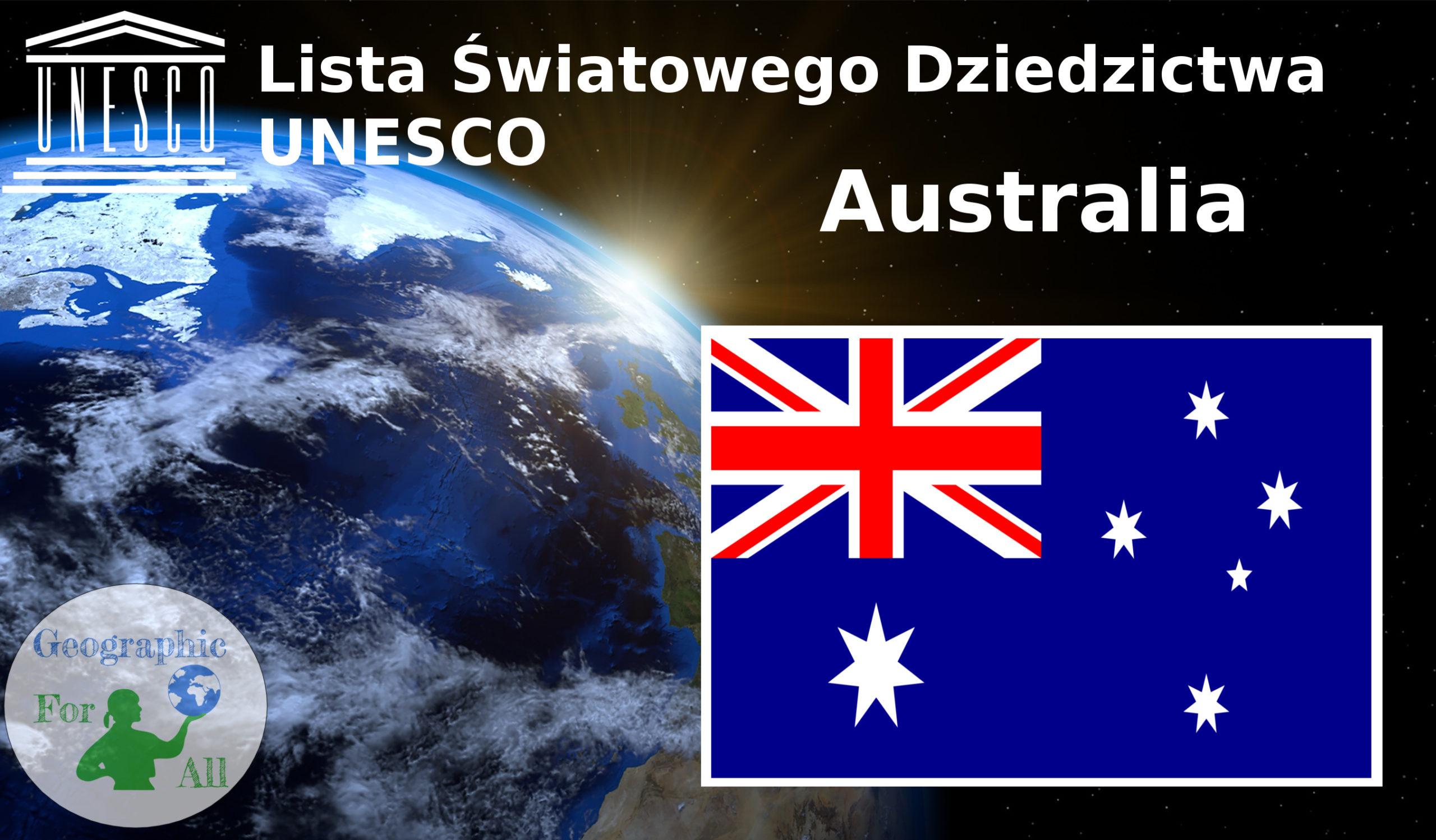 Lista Światowego Dziedzictwa UNESCO Australia