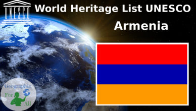World Heritage List UNESCO Armenia
