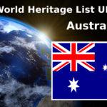 World Heritage List UNESCO Australia
