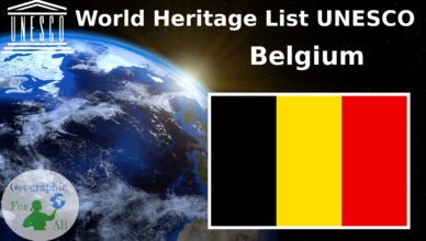 World Heritage List UNESCO Belgium