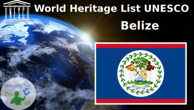 World Heritage List UNESCO Belize