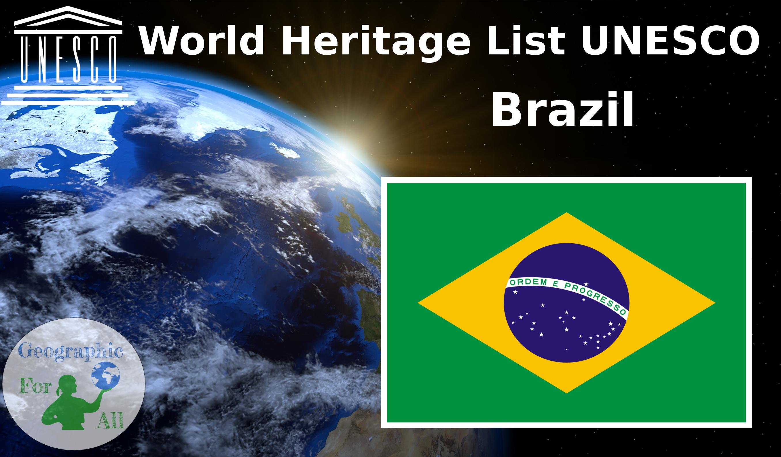 World Heritage List UNESCO Brazil