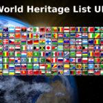 World Heritage List UNESCO per year