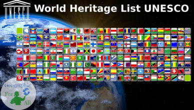 World Heritage List UNESCO - summarise