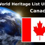 Lista światowego dziedzictwa UNESCO Kanada