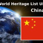 World Heritage List UNESCO China