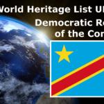 World Heritage List UNESCO Democratic Republic of the Congo