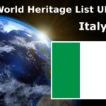 World Heritage List UNESCO Italy