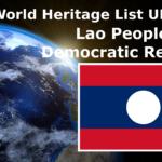 Lista światowego dziedzictwa UNESCO Laotańska Republika Ludowo-Demokratyczna