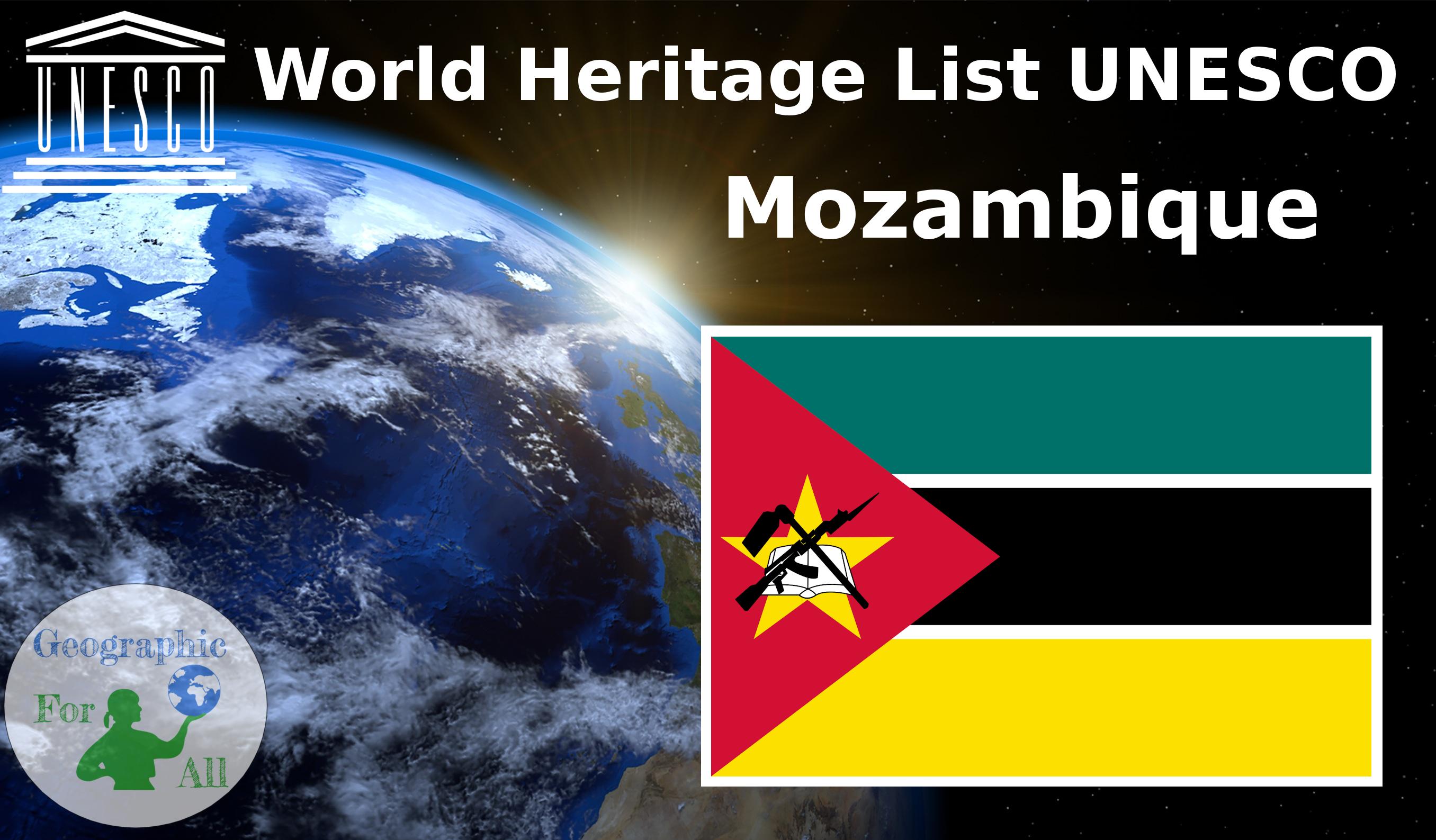 World Heritage List UNESCO - Mozambique
