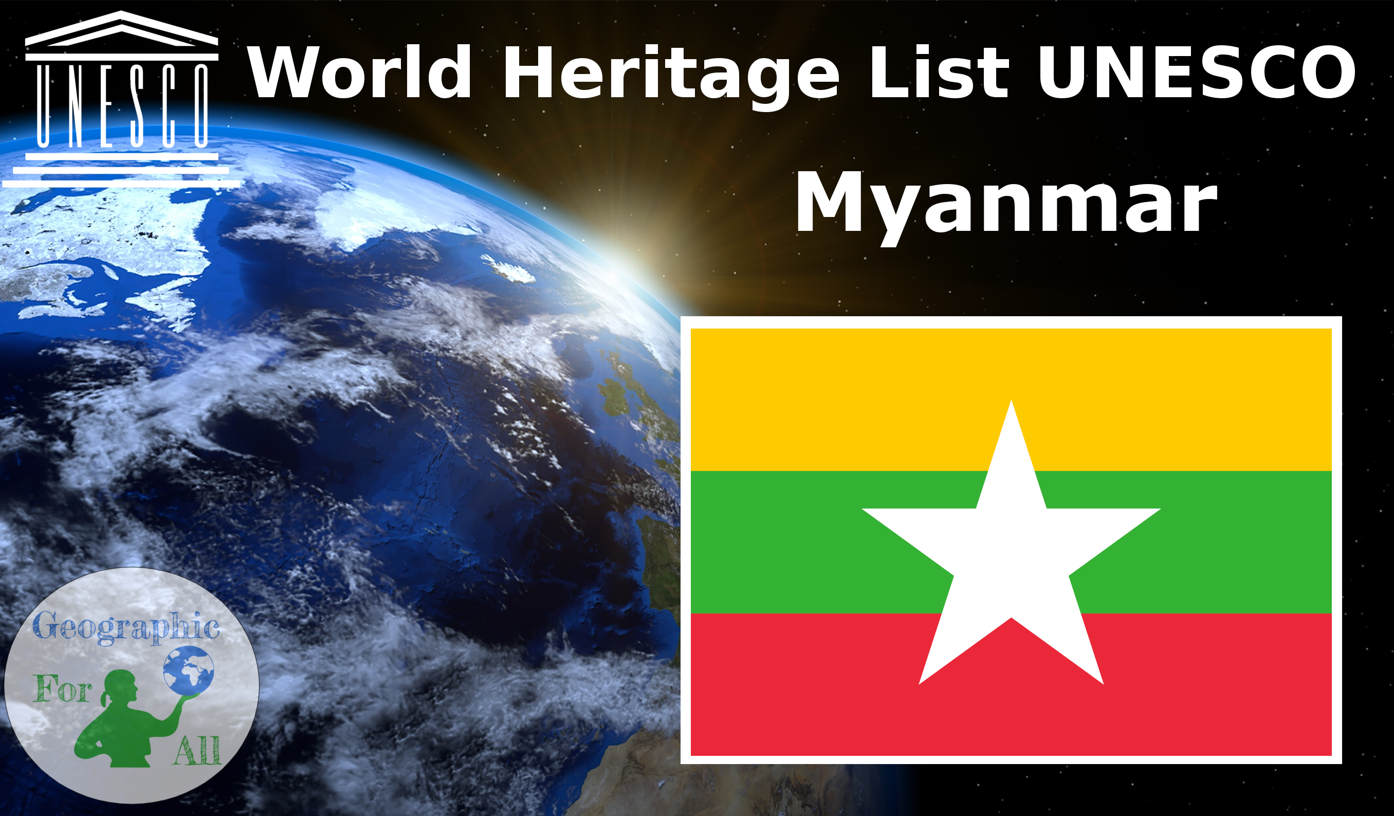 World Heritage List UNESCO - Myanmar