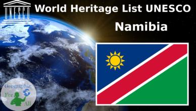 World Heritage List UNESCO - Namibia