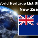 Lista światowego dziedzictwa UNESCO Nowa Zelandia