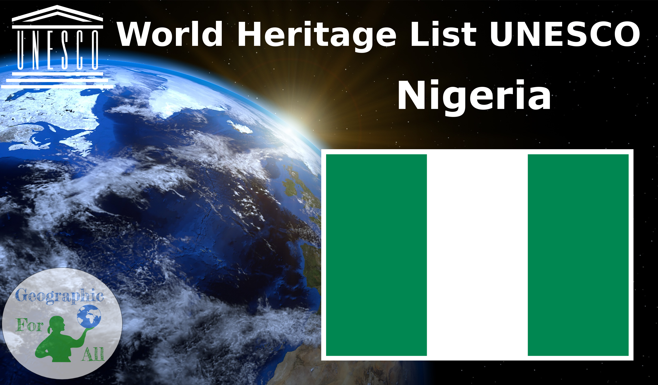World Heritage List UNESCO - Nigeria