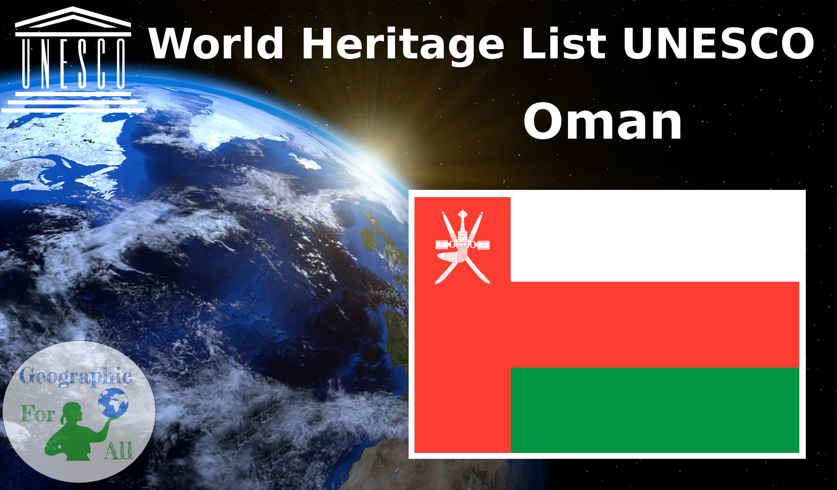 World Heritage List UNESCO - Oman