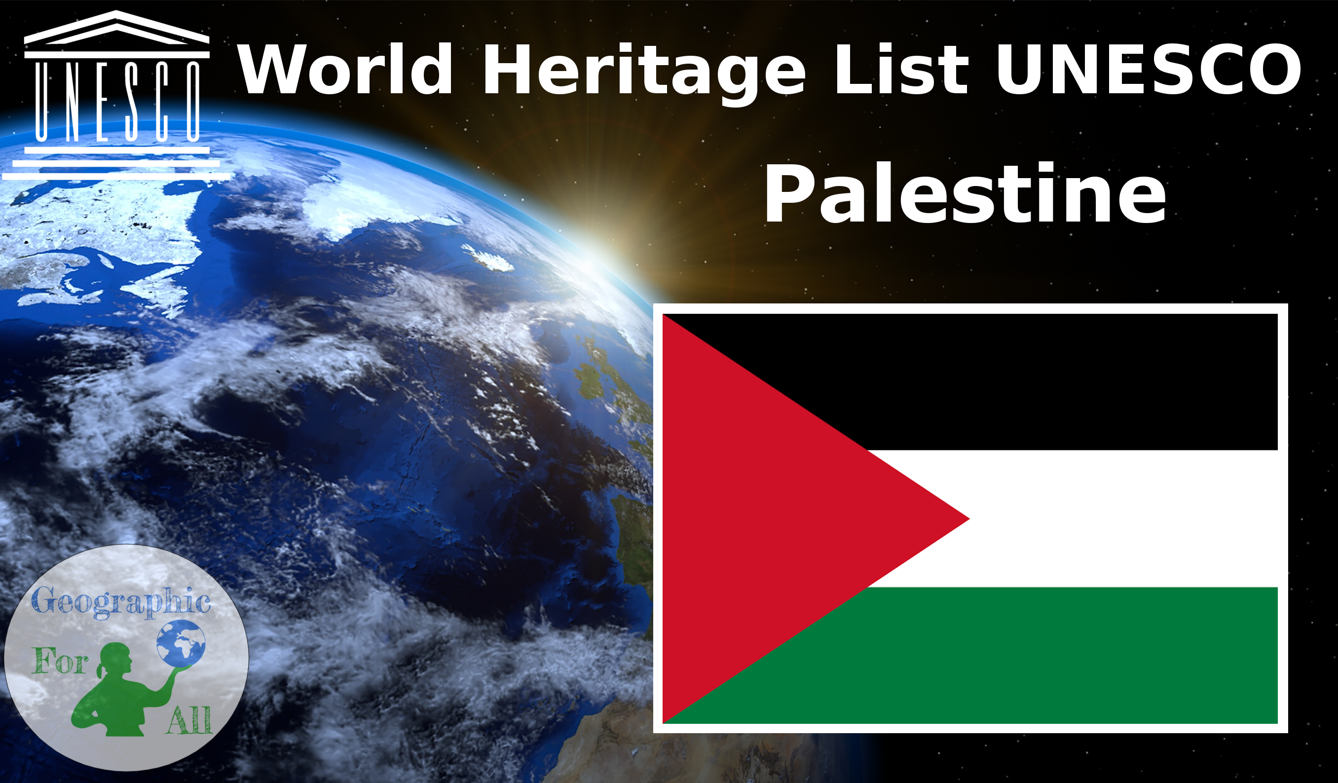 World Heritage List UNESCO - Palestine