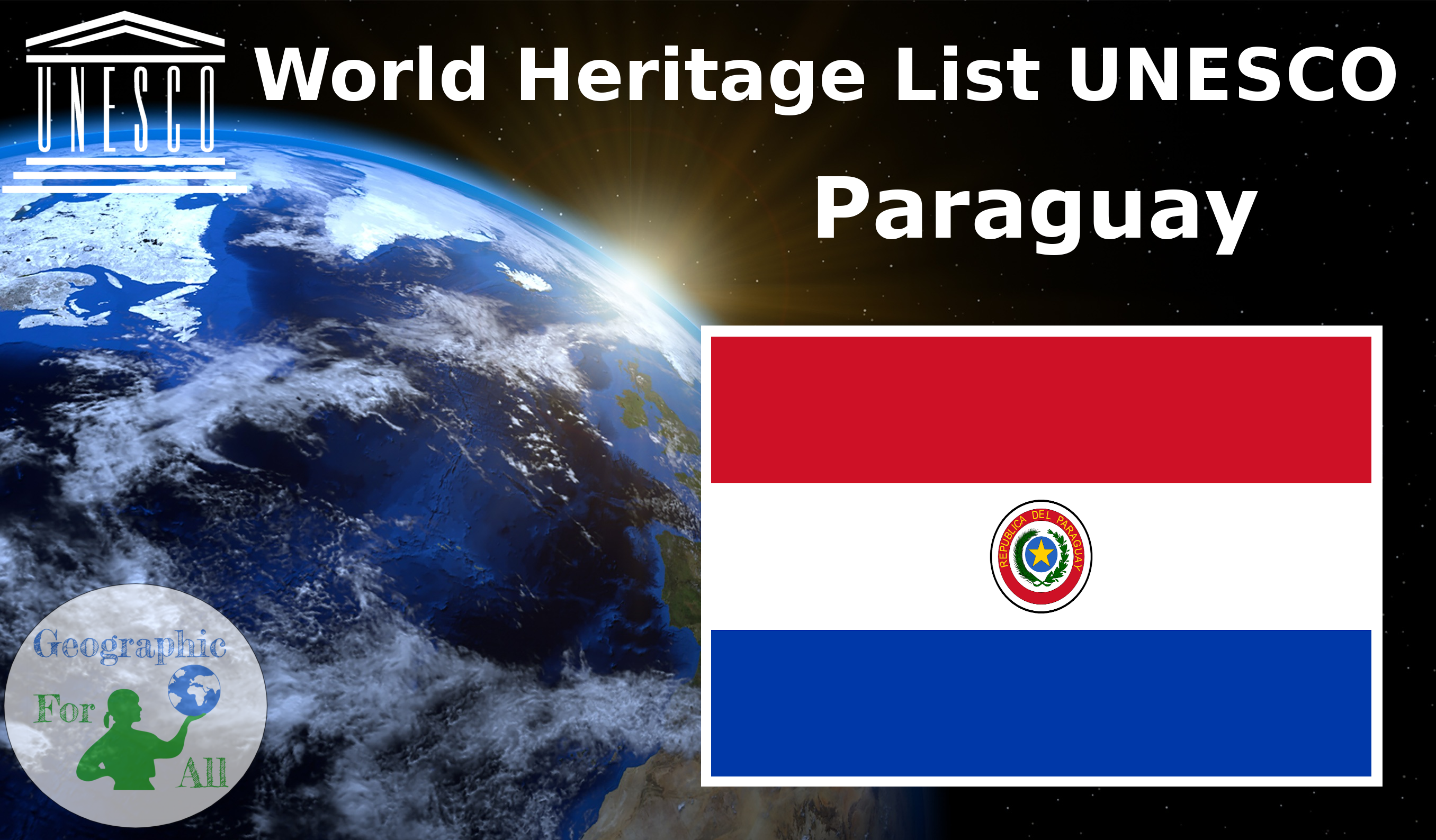 World Heritage List UNESCO - Paraguay