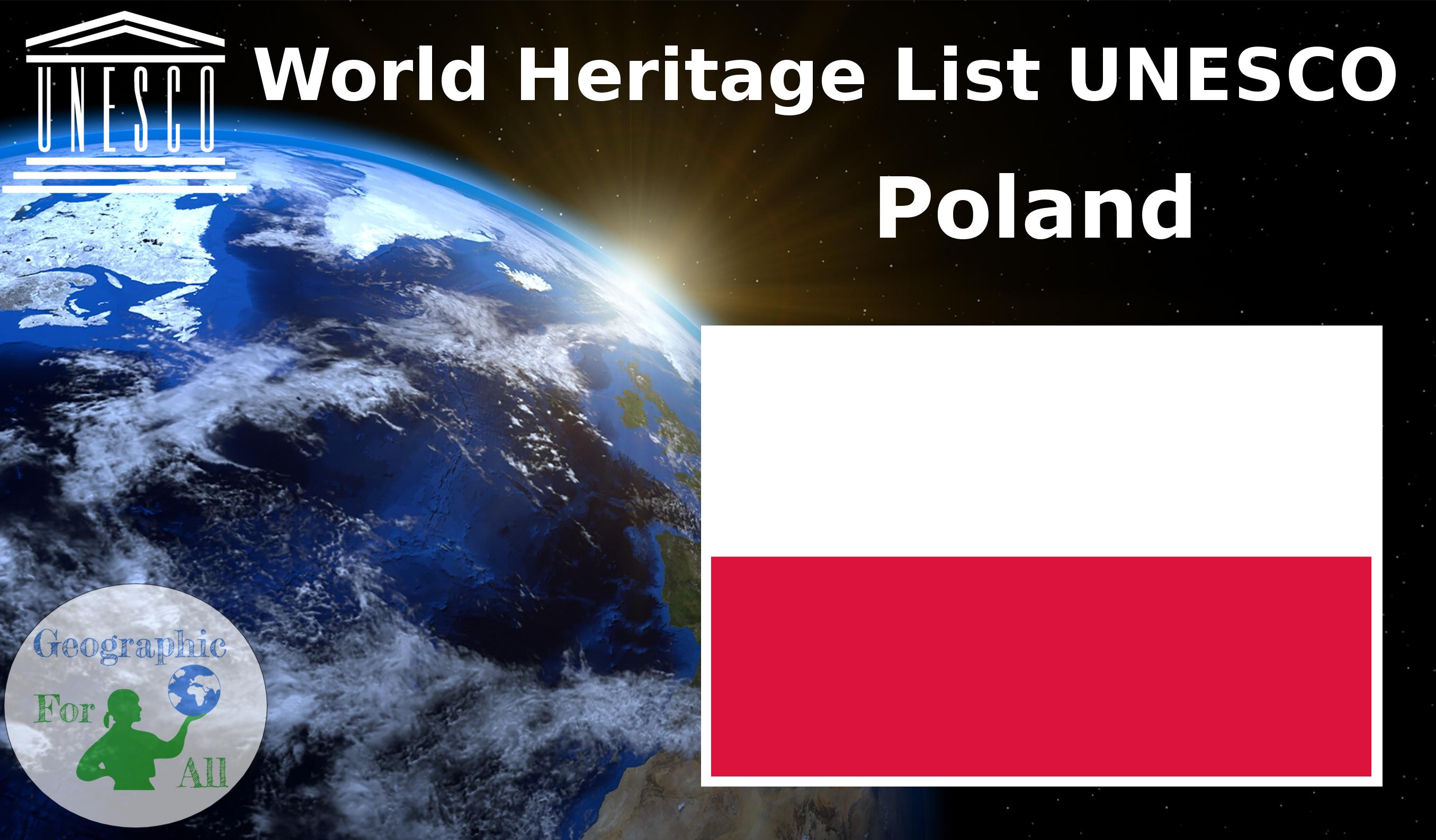 World Heritage List UNESCO - Poland