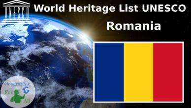 World Heritage List UNESCO - Romania