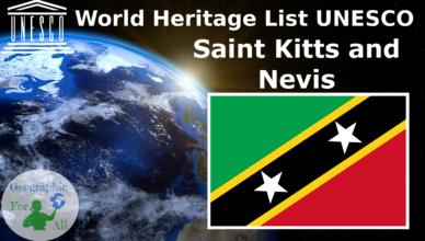 World Heritage List UNESCO - Saint Kitts and Nevis