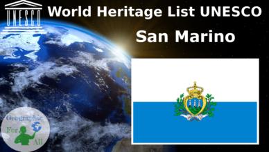 World Heritage List UNESCO - San Marino