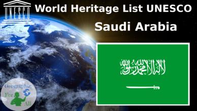 World Heritage List UNESCO - Saudi Arabia