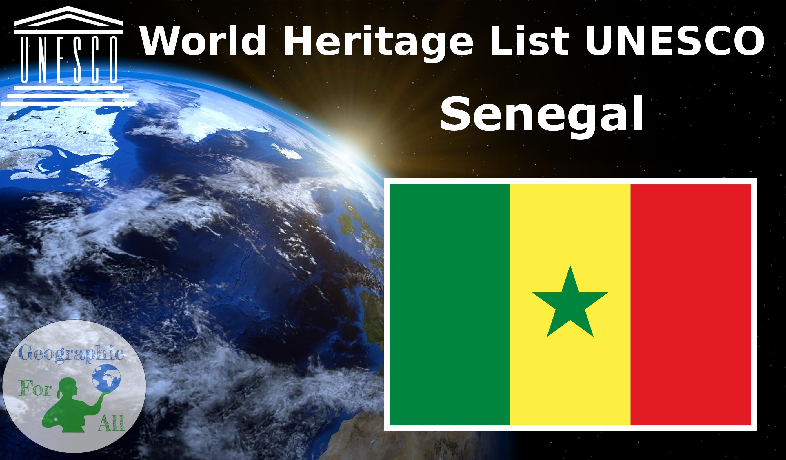 World Heritage List UNESCO - Senegal