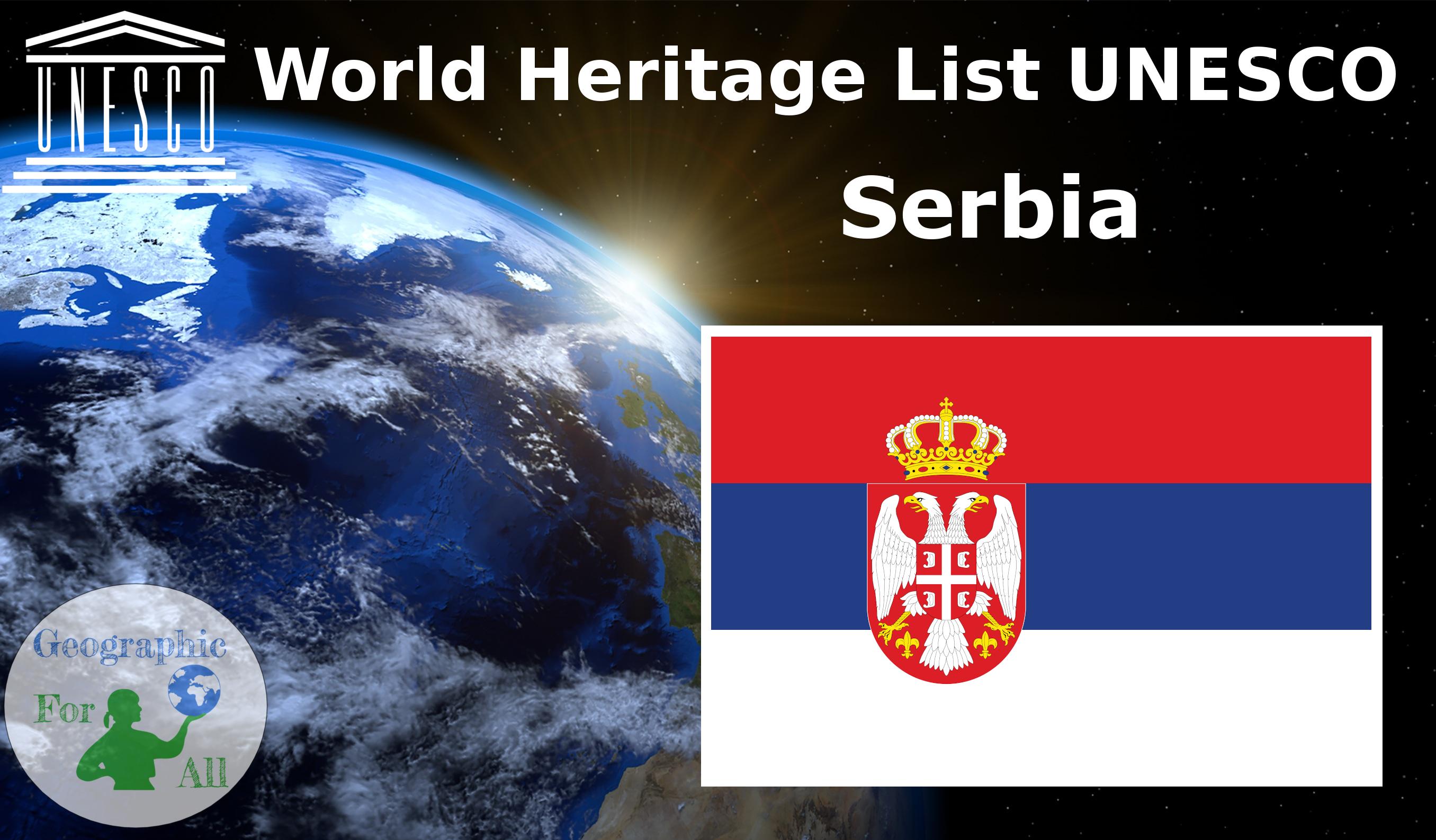 World Heritage List UNESCO - Serbia