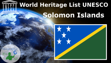 World Heritage List UNESCO - Solomon Islands