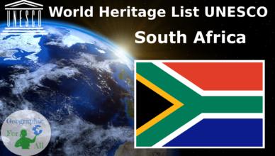 World Heritage List UNESCO - South Africa