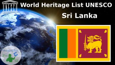 World Heritage List UNESCO - Sri Lanka