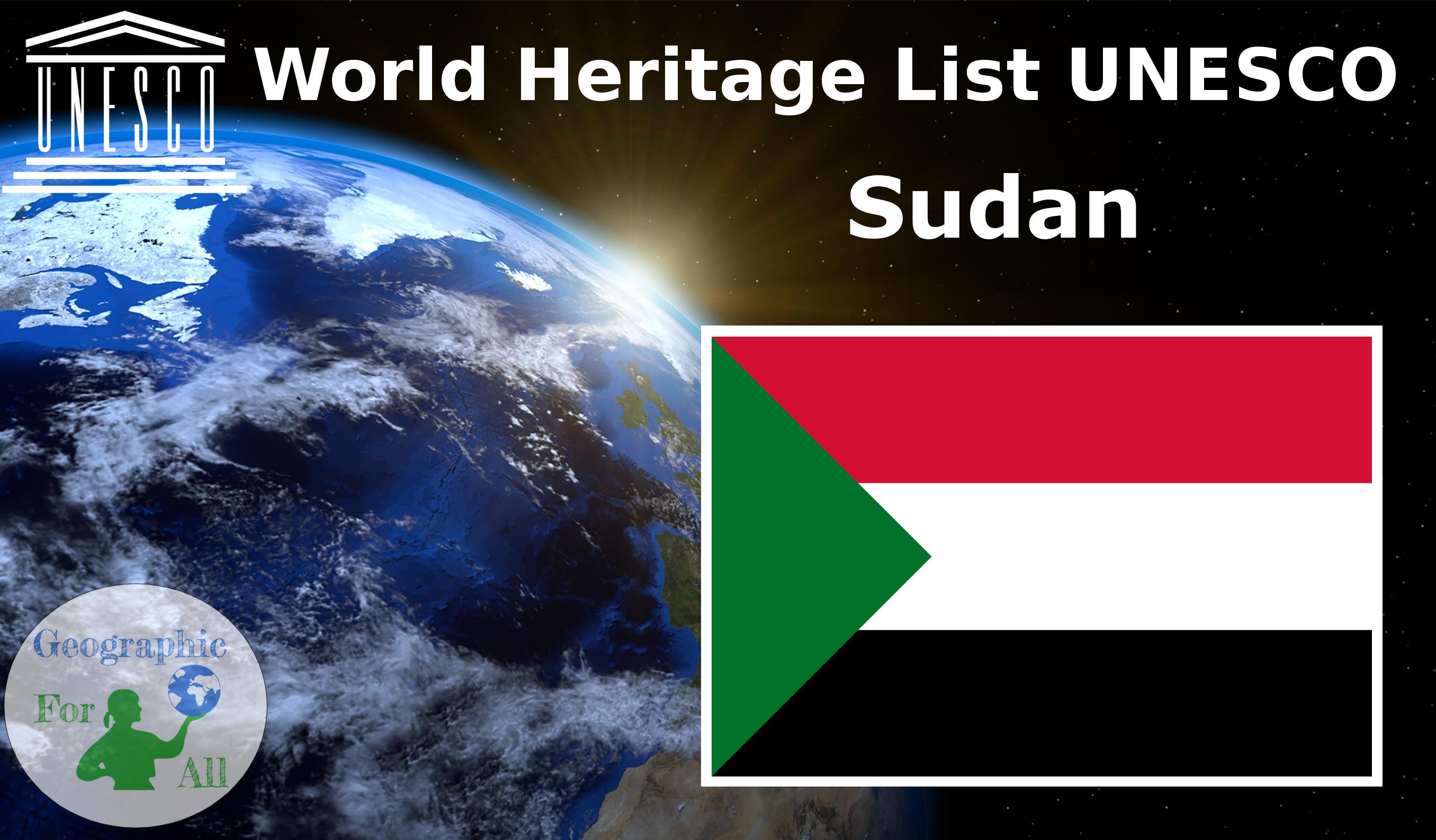 World Heritage List UNESCO - Sudan