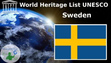 World Heritage List UNESCO - Sweden