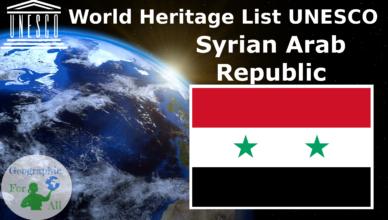 World Heritage List UNESCO - Syrian Arab Republic